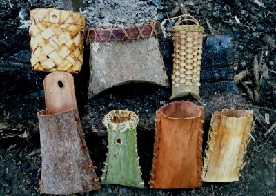 bark containers